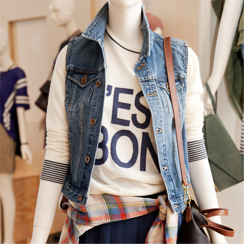 c8412b378e First Look  Spring 2014 at Madewell