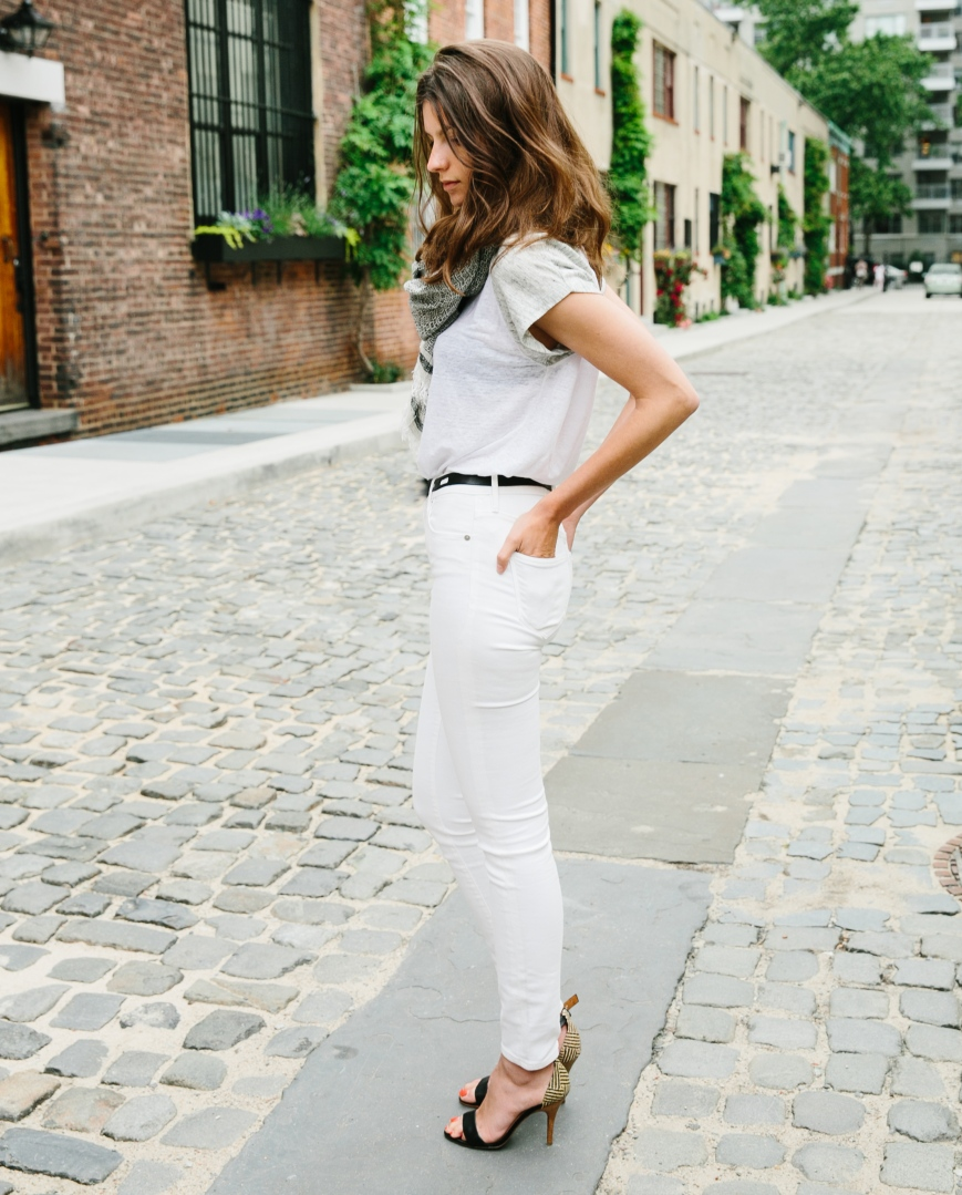 On Wearing White Jeans Without Worry | Madewell