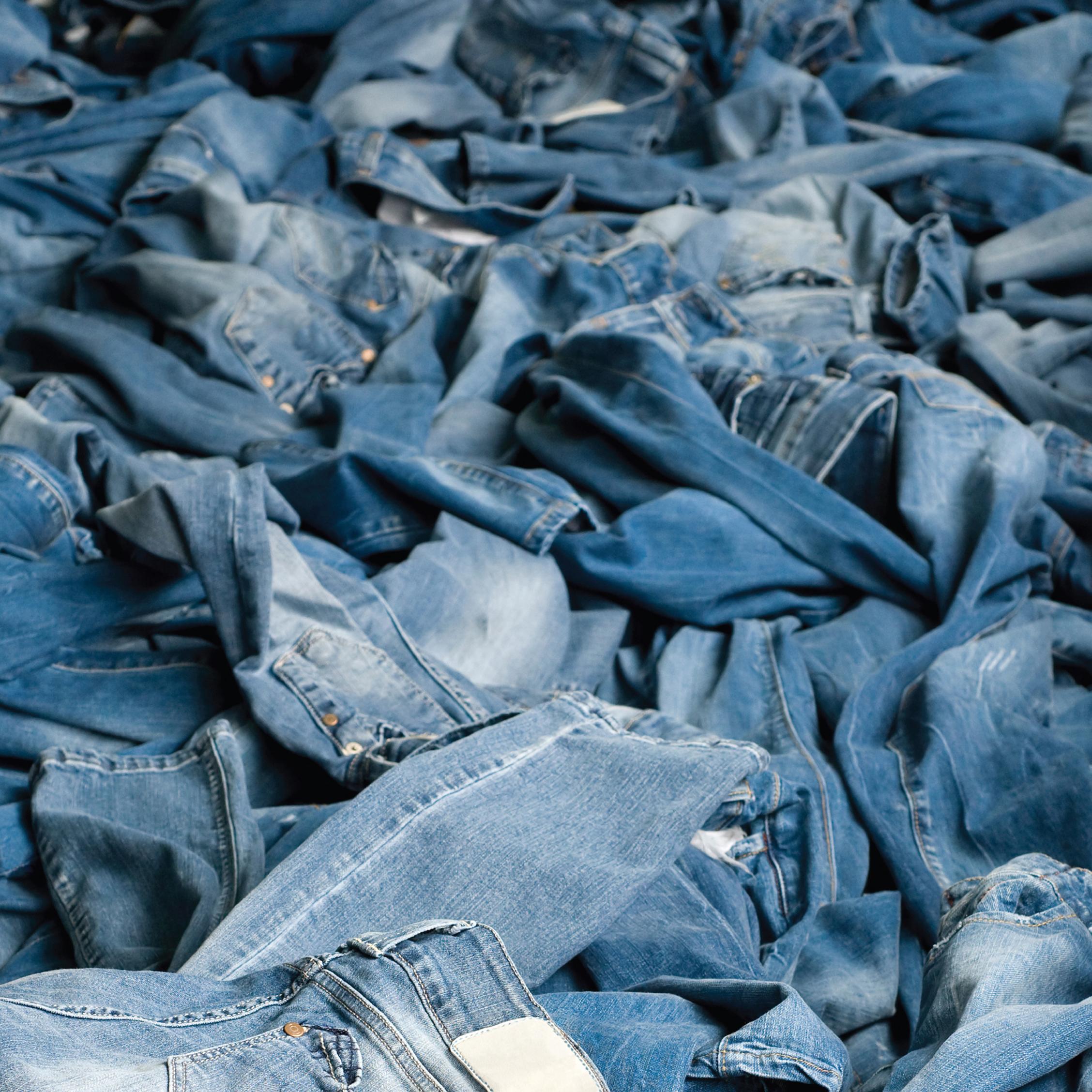 Blue Jeans - wearing